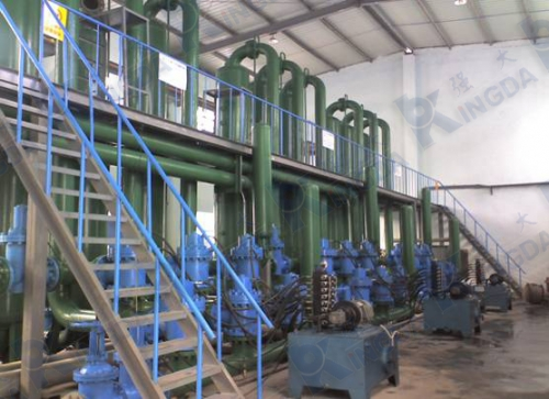 Water isolation pump system